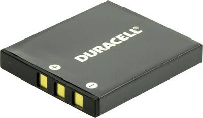 Image of Camera battery Duracell replaces original battery SLB-0837 3.7 V