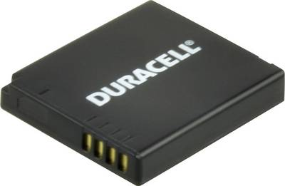 Image of Camera battery Duracell replaces original battery DMW-BCF10 3.7 V