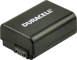 Image of Camera battery Duracell replaces original battery NP-FW50 7.4 V