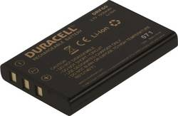 Image of Camera battery Duracell replaces original battery LI-20B 3.7 V 1