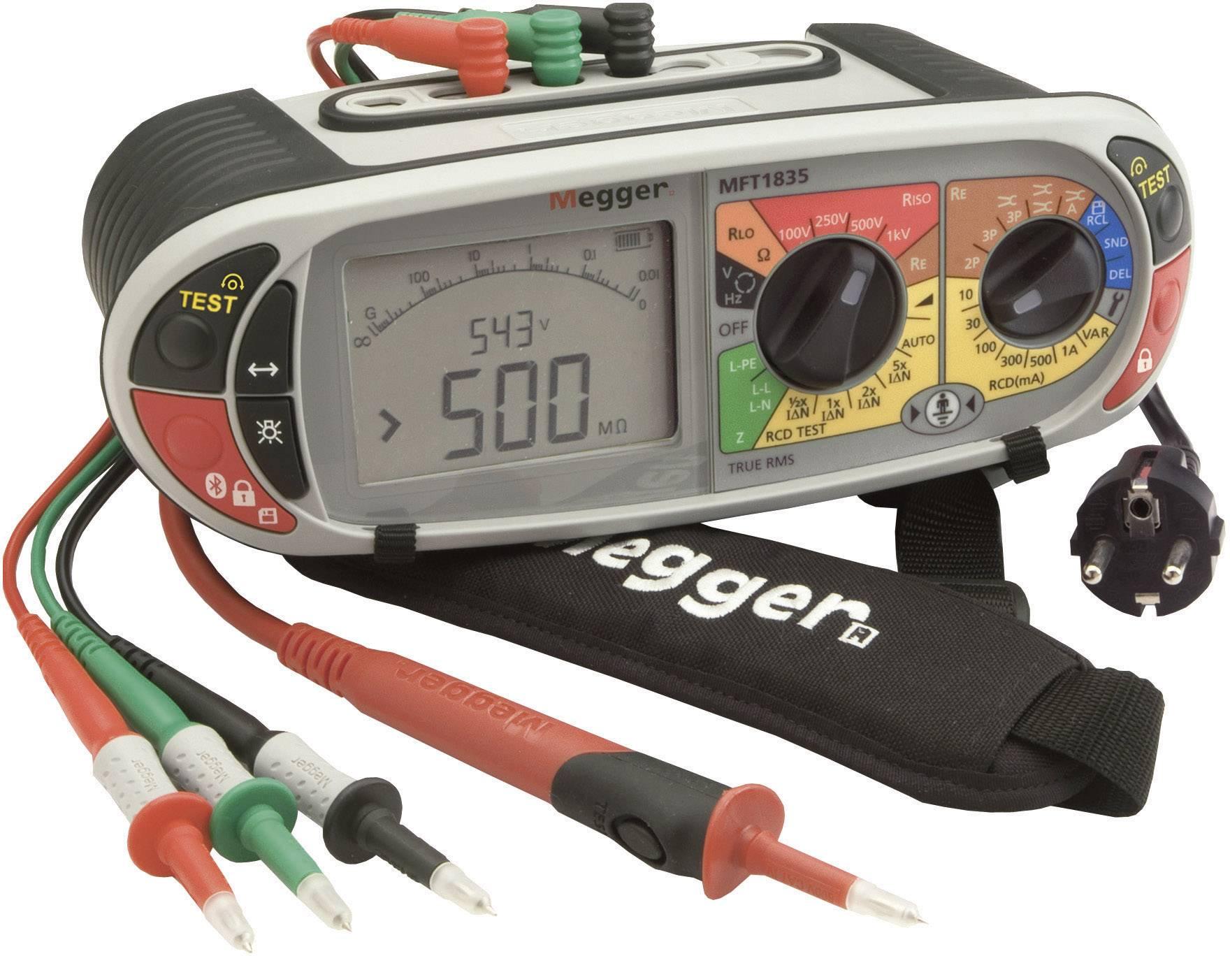 Megger MFT1835-DE+SW Electrical tester Measurements according to DIN