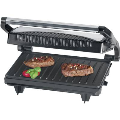 Image of Clatronic MG 3519 Table Grill press Black, Stainless steel