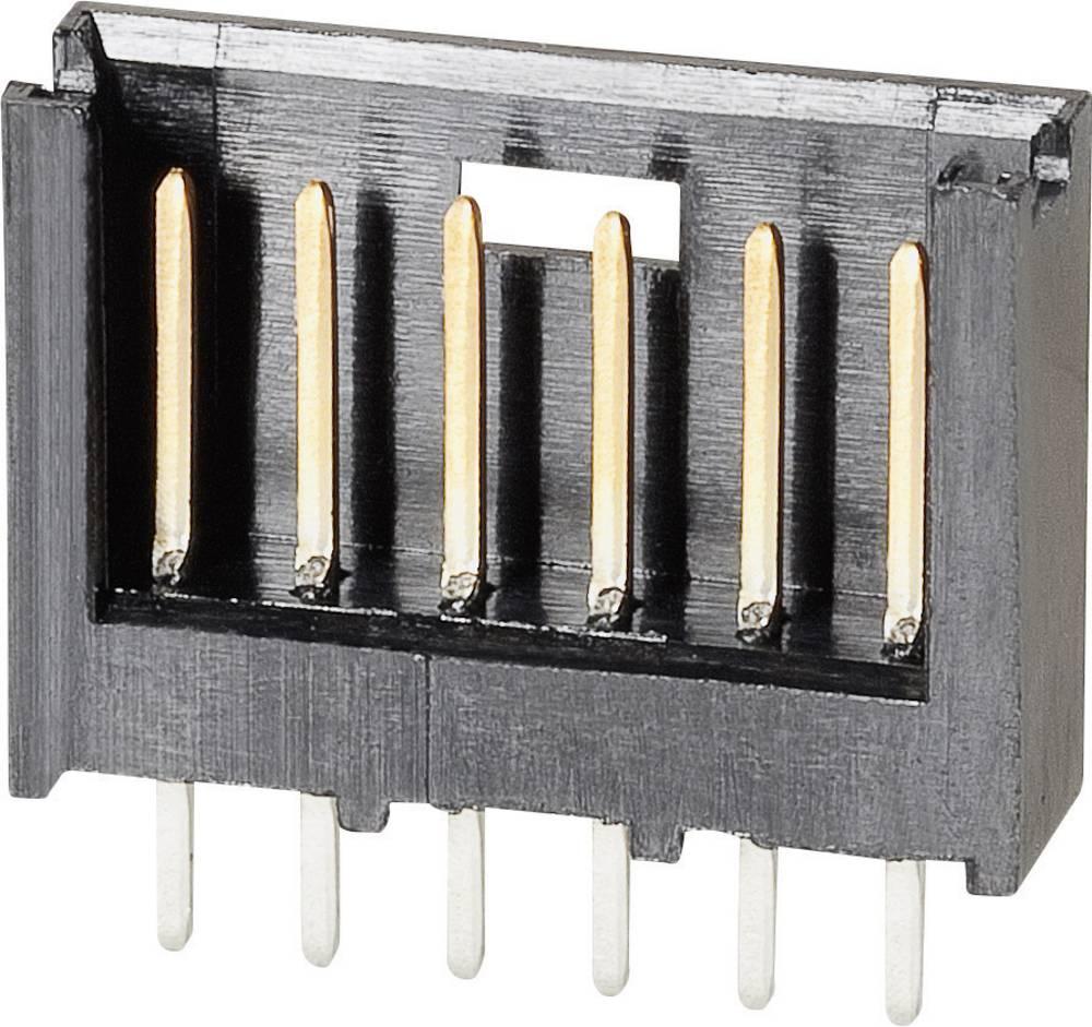 Stiftliste (standard) AMPMODU MOD II Samlet antal poler 12 TE Connectivity 280520-2 Rastermål: 2.54 mm 1 stk