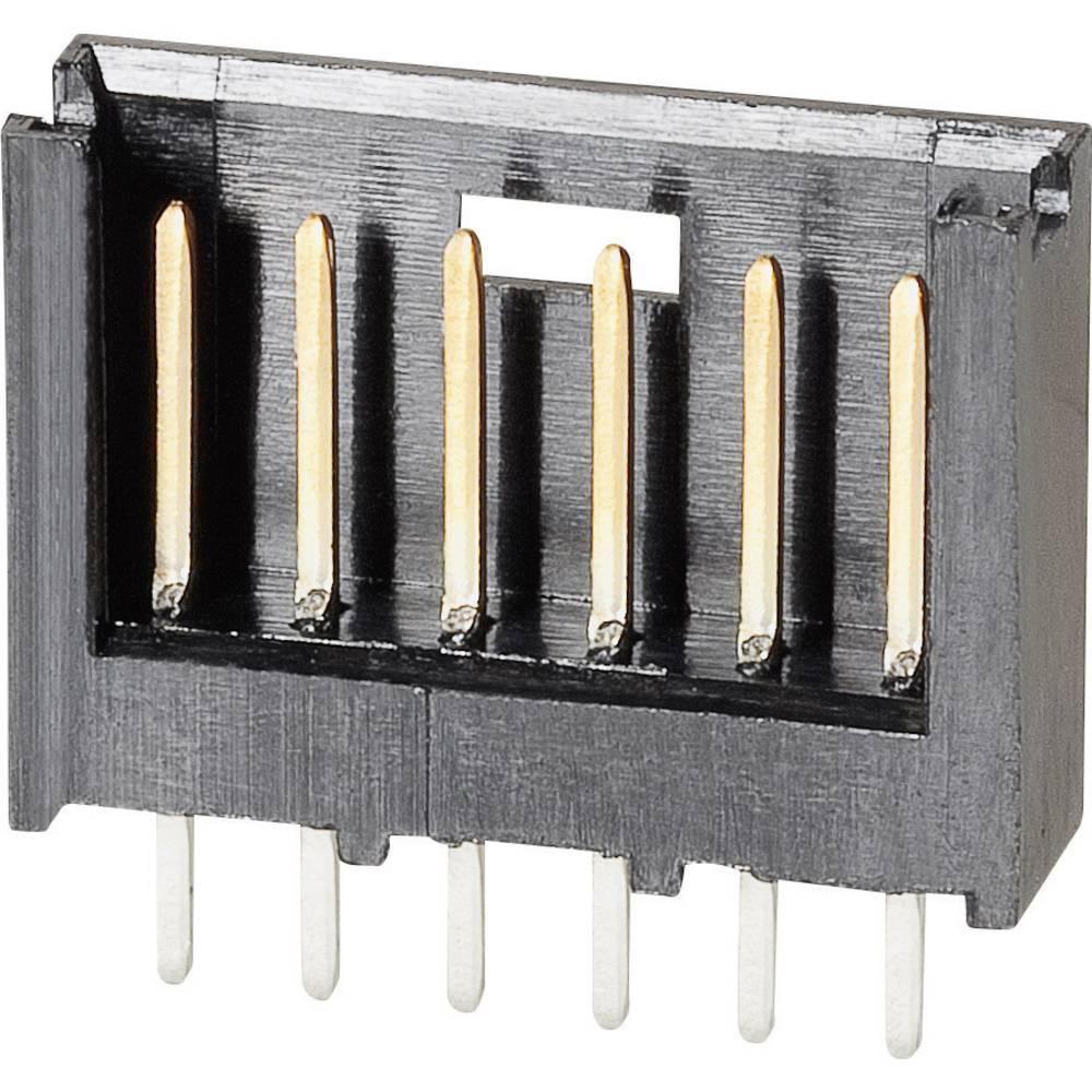 Stiftliste (standard) AMPMODU MOD II Samlet antal poler 10 TE Connectivity 280374-2 Rastermål: 2.54 mm 1 stk