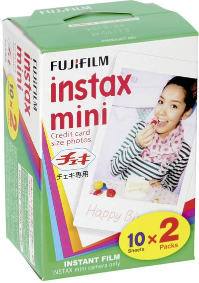 Image of Fujifilm Instax Mini Film, 20 Shots