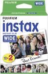 1 x 2 Fujifilm Instax film glossy WIDE
