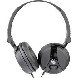DJ Hovedtelefoner On-ear AKG Harman K 518 kabelbundet Sort