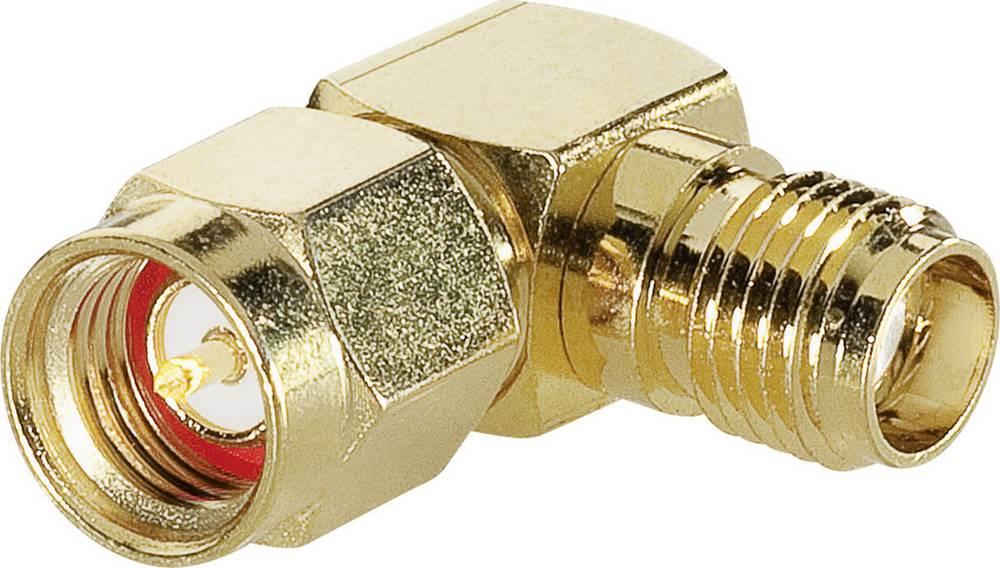 SMA-adapter SMA-vtič - SMA-vtičnica BKL Electronic 0409059 1 kos