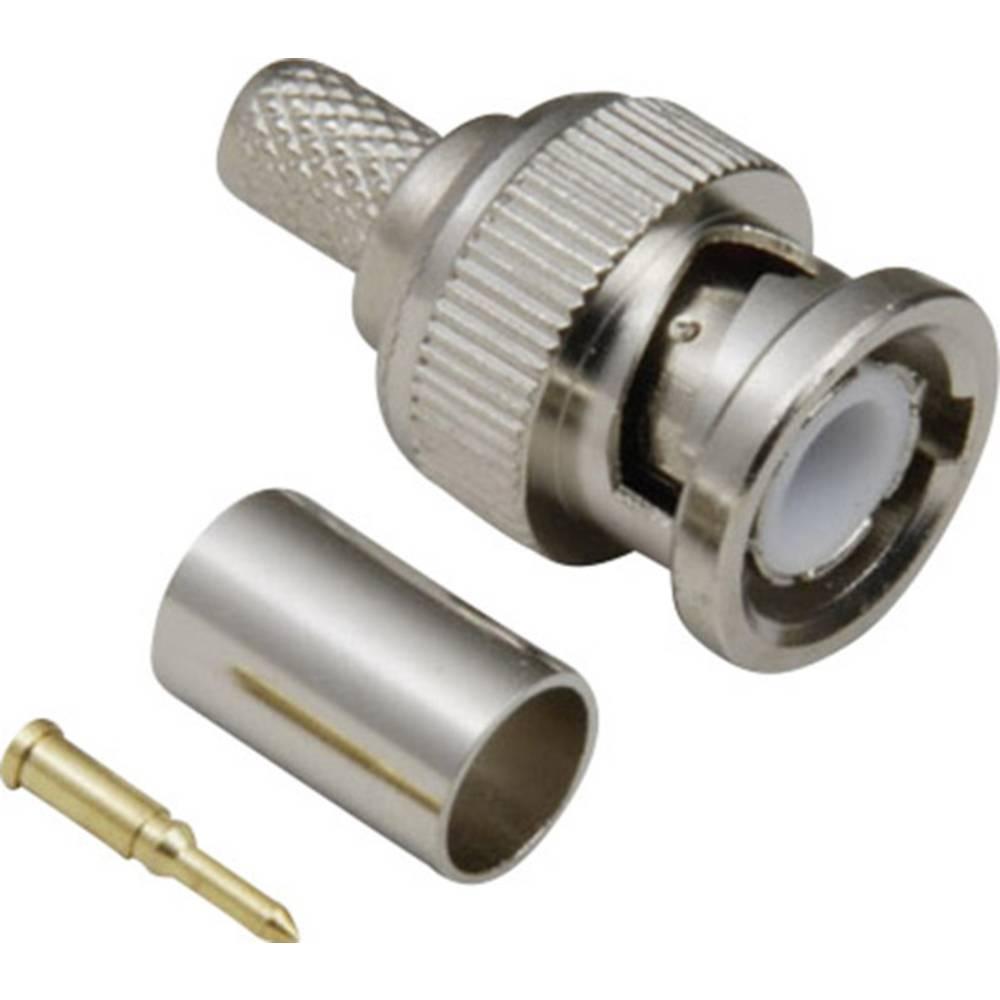 BNC-stikforbindelse BKL Electronic 0401256/D 50 Ohm Stik, lige 1 stk