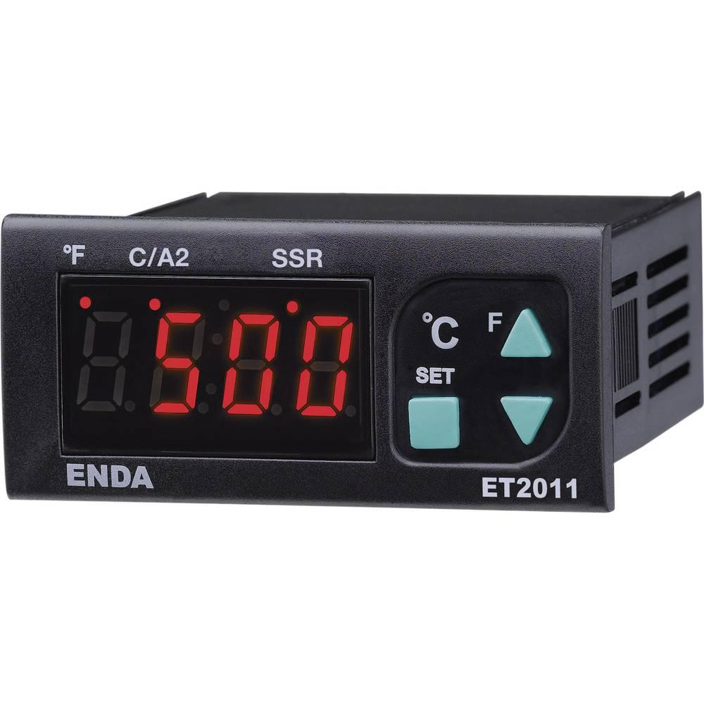 Enda PID-termostat ET2011-T-230 230 V/AC vgradne mere 71 x 29,5 mm globina vgradnje 73 mm vrsta senzorja termoelement