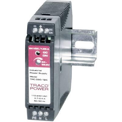 TracoPower TPC 030-105 Rail mounted PSU (DIN) 5 V DC 5 A 20 W 1 x