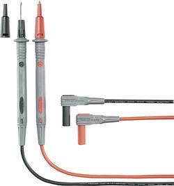 Säkerhets-mätledning-Set VOLTCRAFT MS-4N 1.2 m Svart, Röd