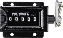 VOLTCRAFT MC-1 mehanski števec, vgradne mere 58 x 47 mm