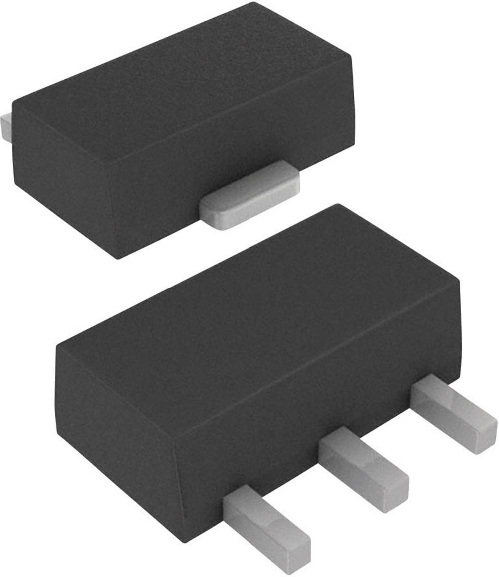 Tranzistor DIODES Incorporated ZXTP25040DZTA vrsta kućišta: SOT-89-3