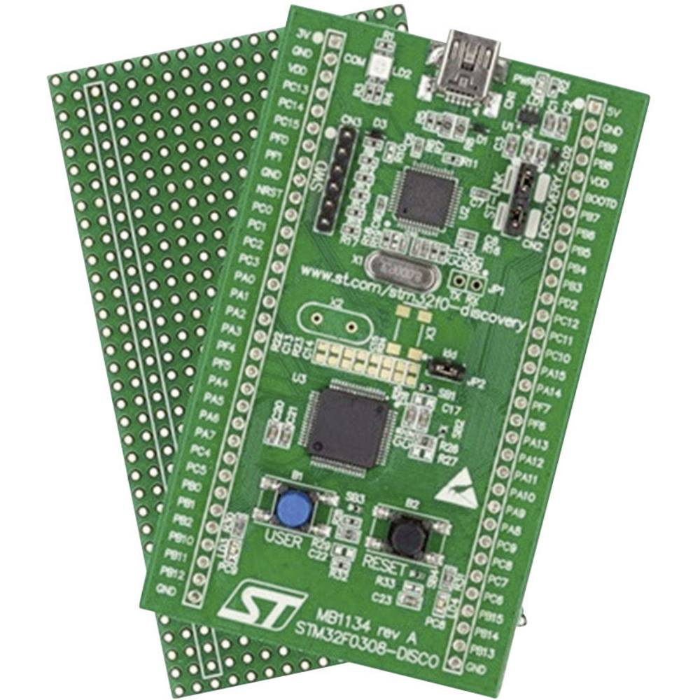 Raziskovalni komplet za STM32 F030-Value Line z STM32F030R8 MCU STMicroelectronics STM32F0308 DISCO
