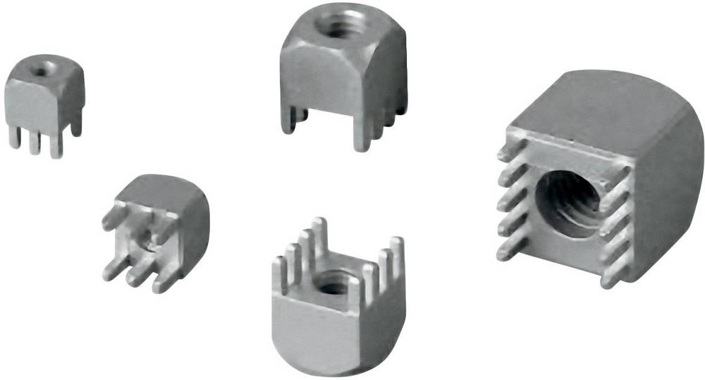 Priključek (standardni) Würth Elektronik 7460307, mere: 2.54 mm 1 kos