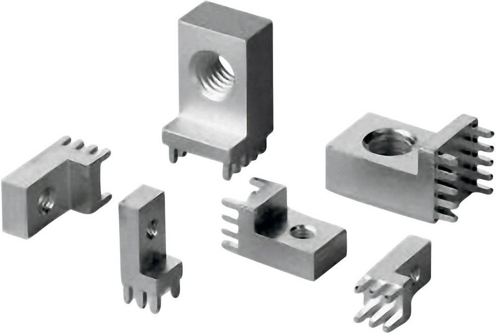 Bøsningsliste (standard) WP Samlet antal poler 10 Würth Elektronik 7461107 Rastermål: 2.54 mm 1 stk