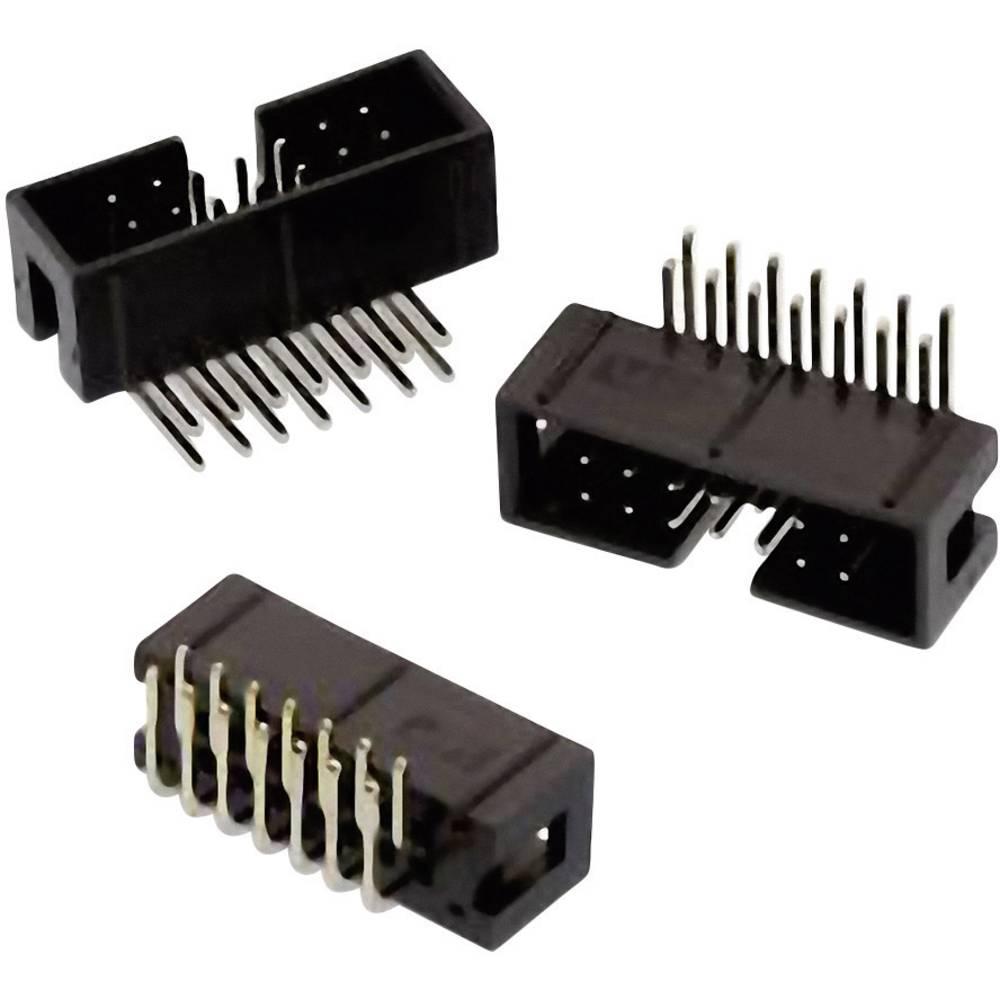 Pinski konektor (standarden) Würth Elektronik 61201621721, mere: 2.54 mm 1 kos