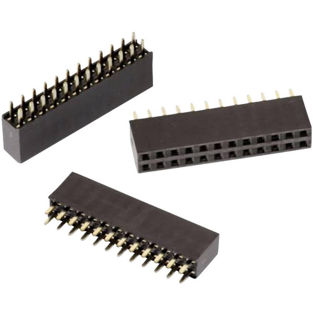 Priključek (standardni) Würth Elektronik 61306421821, mere: 2.54 mm 1 kos