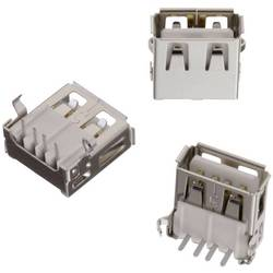 USB , tipa A pokončen, WR-COM vtičnica, vgraden horizontalen Würth Elektronik vsebuje: 1 kos