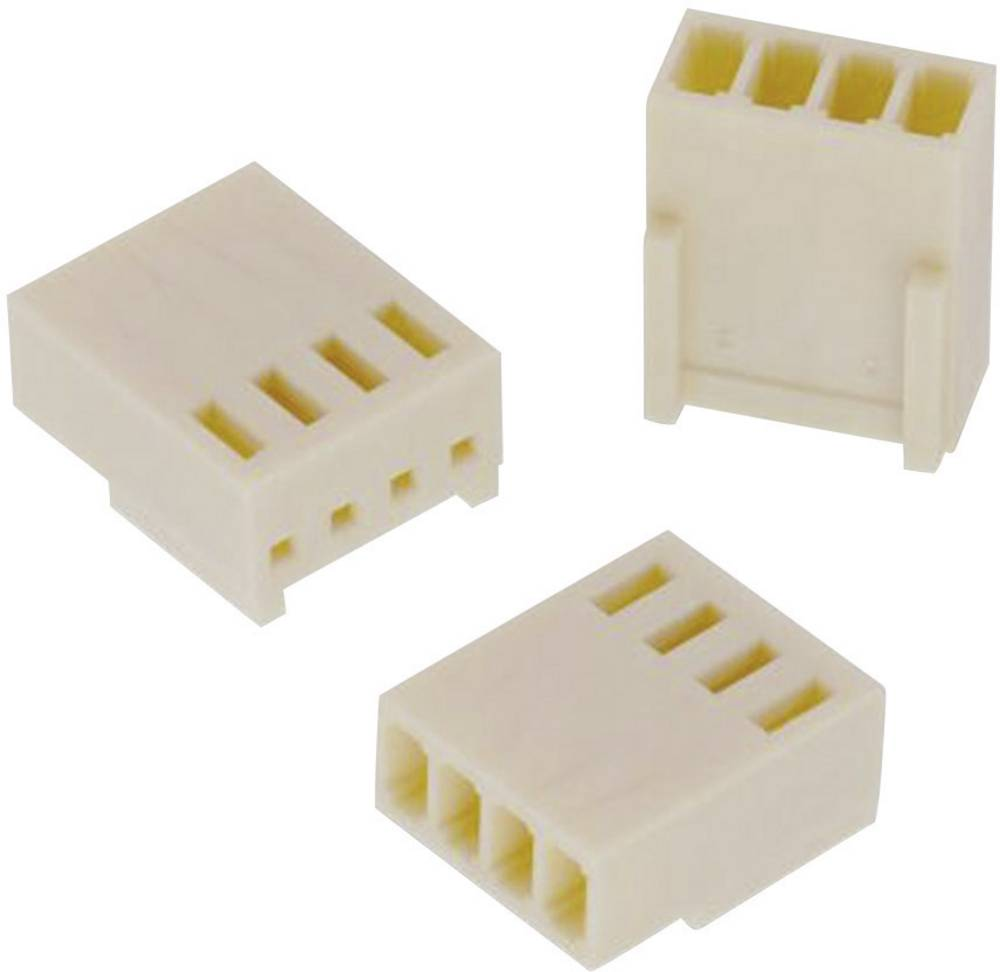 Tilslutningskabinet-kabel WR-WTB Samlet antal poler 4 Würth Elektronik 61900411621 Rastermål: 2.54 mm 1 stk