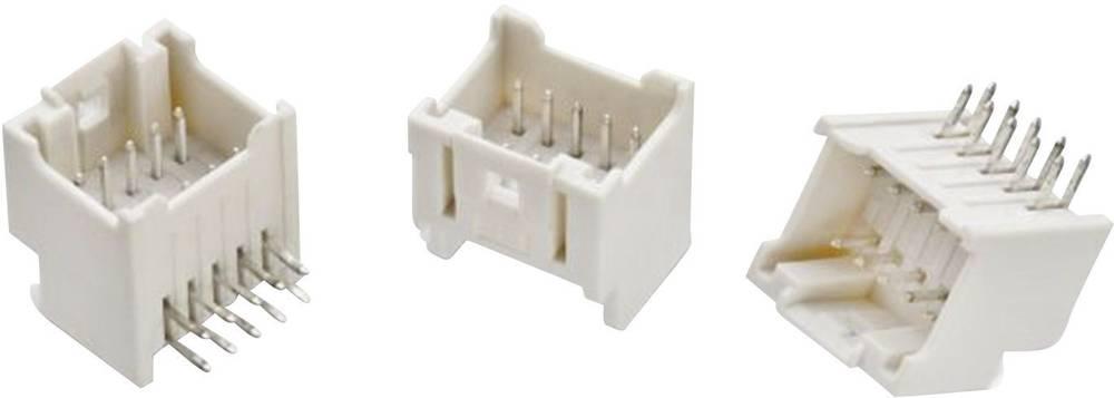 Indbygningsstiftliste (standard) WR-WTB Samlet antal poler 38 Würth Elektronik 62403821722 Rastermål: 2 mm 1 stk