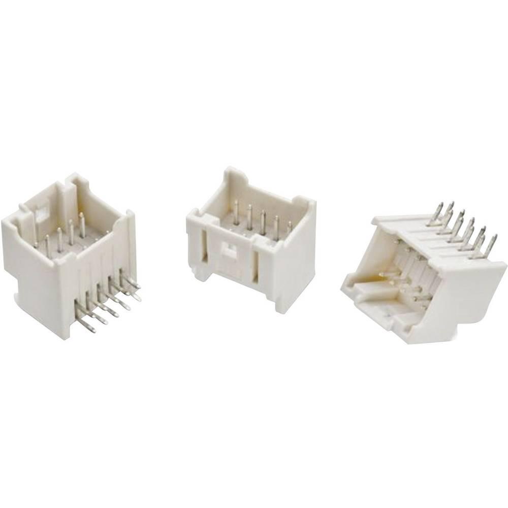 Indbygningsstiftliste (standard) WR-WTB Samlet antal poler 20 Würth Elektronik 62402021722 Rastermål: 2 mm 1 stk