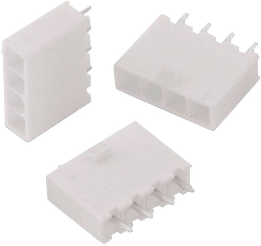 Stiftliste (standard) WR-MPC4 Samlet antal poler 4 Würth Elektronik 64900411122 Rastermål: 4.20 mm 1 stk
