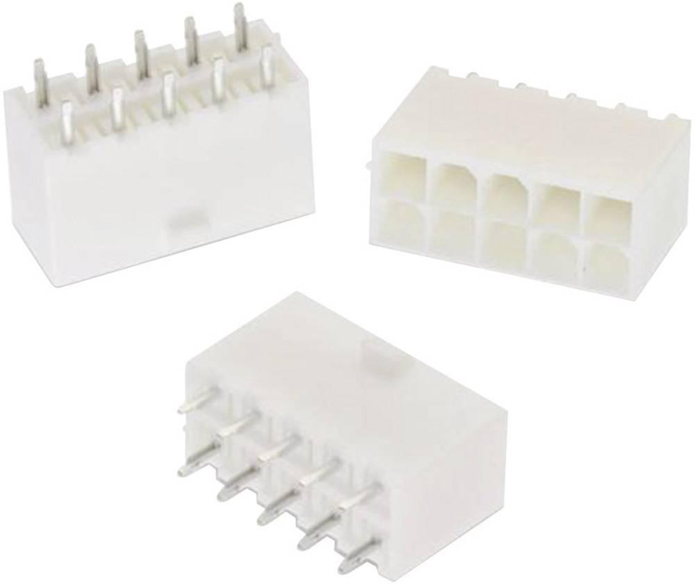 Indbygningsbøsningsliste (standard) WR-MPC4 Samlet antal poler 6 Würth Elektronik 64900621122 Rastermål: 4.20 mm 1 stk
