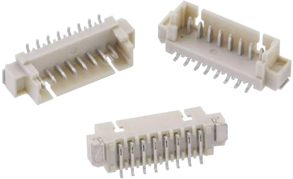 Vgradni pinski konektor (standarden) Würth Elektronik 653105124022, mere: 1.25 mm 1 kos