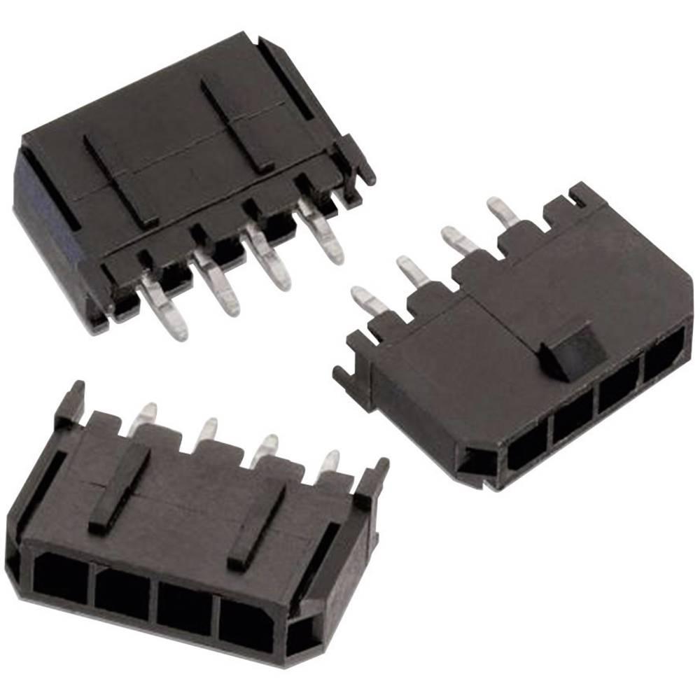 Indbygningsbøsningsliste (standard) WR-MPC3 Samlet antal poler 12 Würth Elektronik 66201211122 Rastermål: 3 mm 1 stk