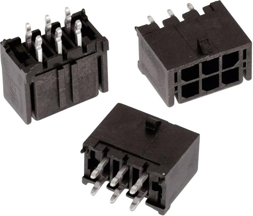 Indbygningsbøsningsliste (standard) WR-MPC3 Samlet antal poler 22 Würth Elektronik 66202221122 Rastermål: 3 mm 1 stk