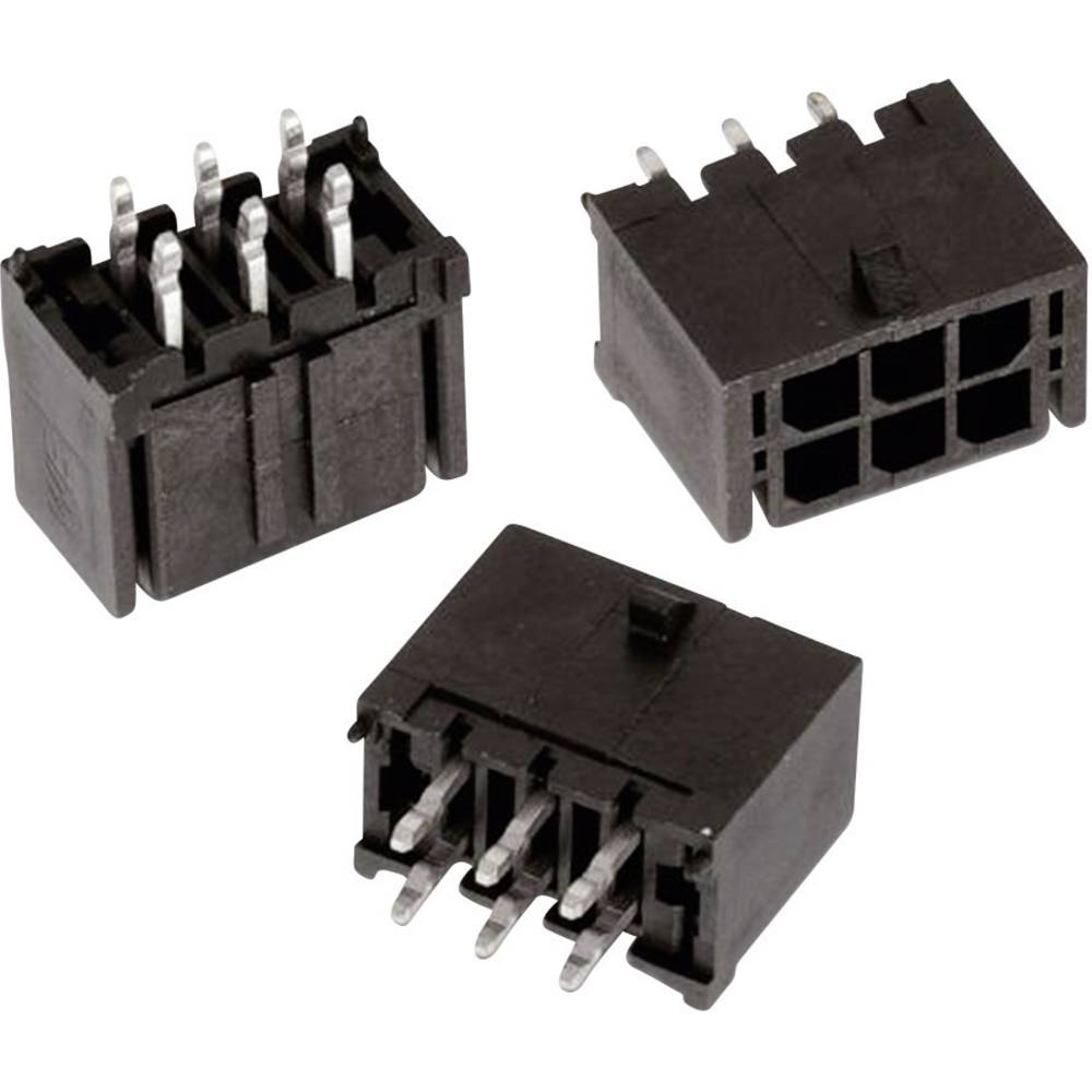 Indbygningsbøsningsliste (standard) WR-MPC3 Samlet antal poler 16 Würth Elektronik 66201621122 Rastermål: 3 mm 1 stk