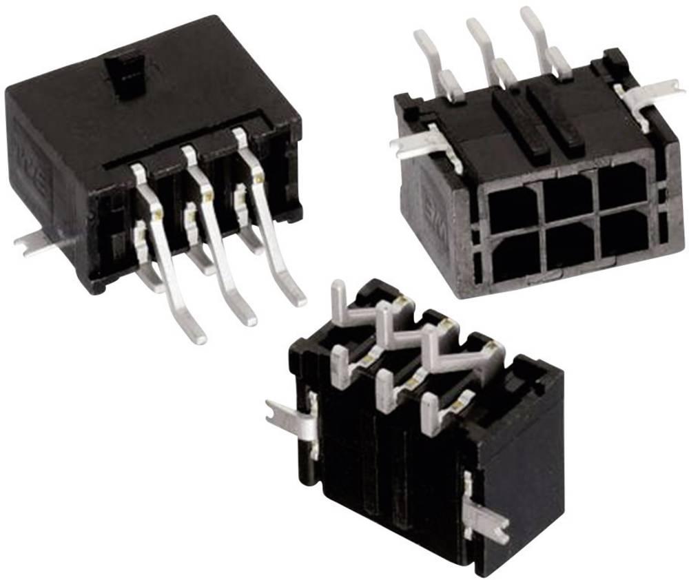 Indbygningsbøsningsliste (standard) WR-MPC3 Samlet antal poler 12 Würth Elektronik 662012231722 Rastermål: 3 mm 1 stk