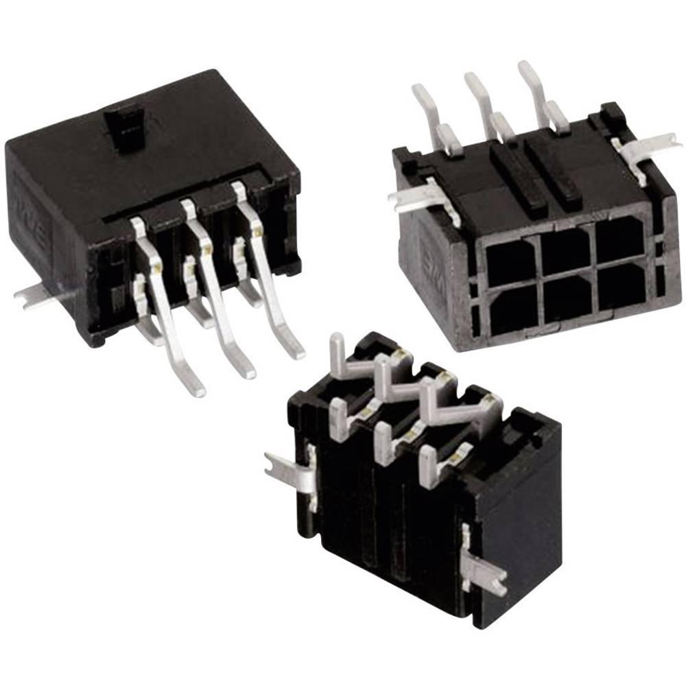Vgradni priključek (standardni) Würth Elektronik 662002231722, mere: 3 mm 1 kos