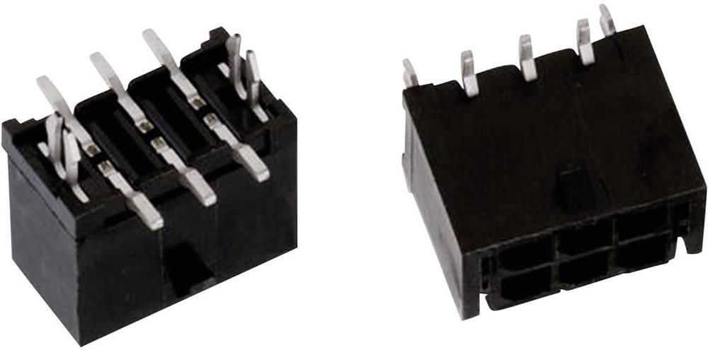 Indbygningsbøsningsliste (standard) WR-MPC3 Samlet antal poler 20 Würth Elektronik 662020235922 Rastermål: 3 mm 1 stk