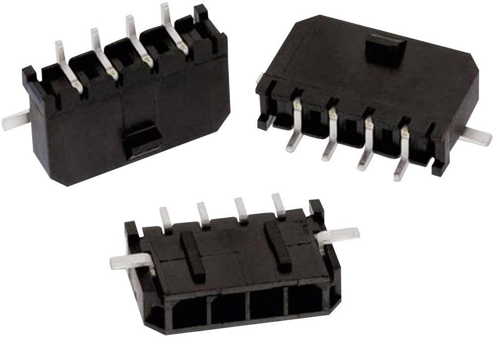 Indbygningsbøsningsliste (standard) WR-MPC3 Samlet antal poler 7 Würth Elektronik 662107145021 Rastermål: 3 mm 1 stk