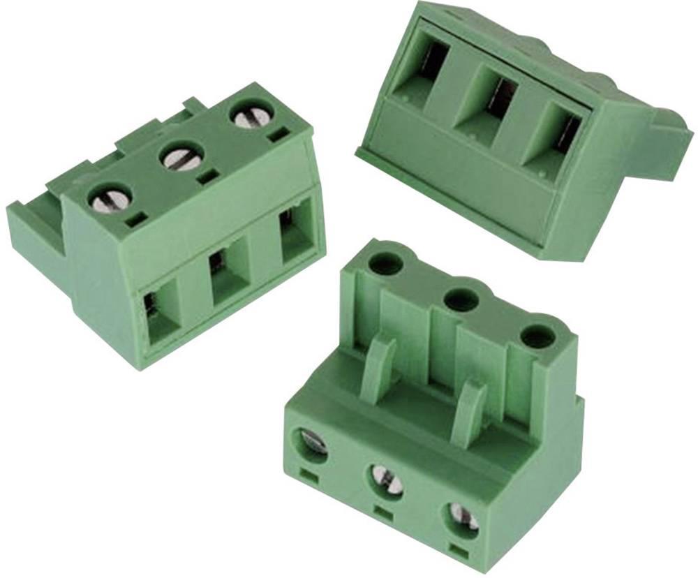 Tilslutningskabinet-kabel 3514 Samlet antal poler 4 Würth Elektronik 691351400004 Rastermål: 7.62 mm 1 stk