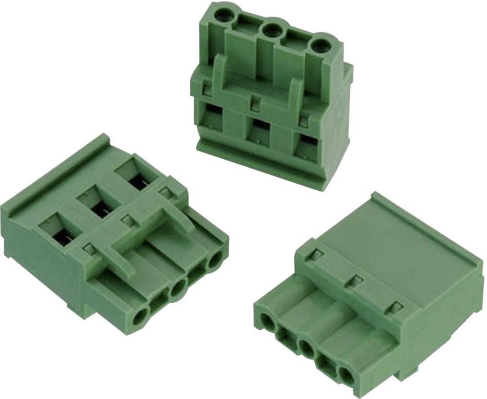 Tilslutningskabinet-kabel 3524 Samlet antal poler 4 Würth Elektronik 691352410004 Rastermål: 7.62 mm 1 stk