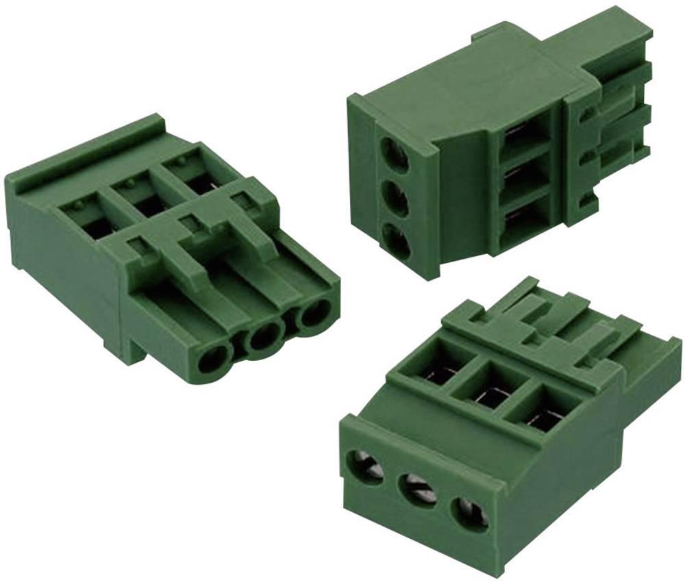 Tilslutningskabinet-kabel 352 Samlet antal poler 5 Würth Elektronik 691352510005 Rastermål: 5.08 mm 1 stk