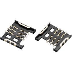 WR-CRD SIM-kort sokkel Würth Elektronik WR-CRD 1 stk