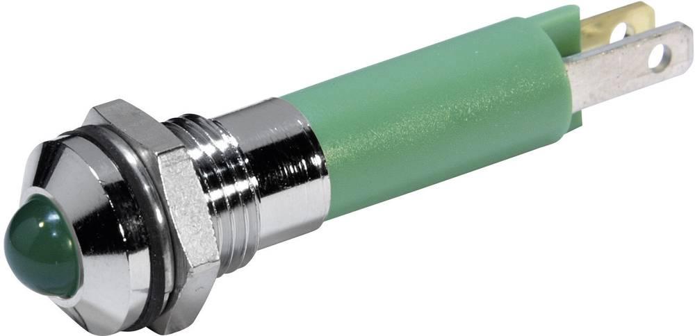 LED signalna lučka, zelena 24 V/DC CML 19060351