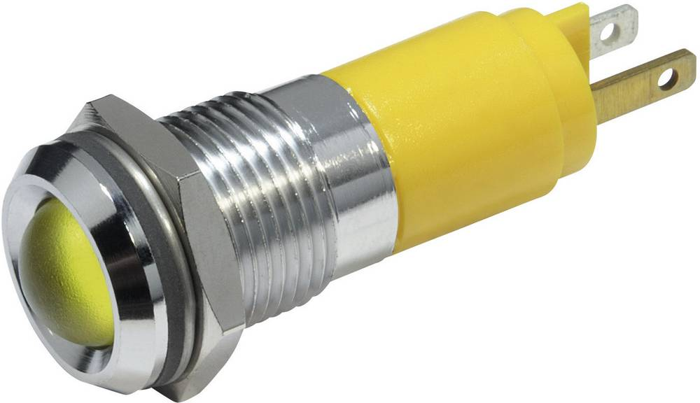 LED-signallampe CML 19220352 24 V/DC 56 mA Gul