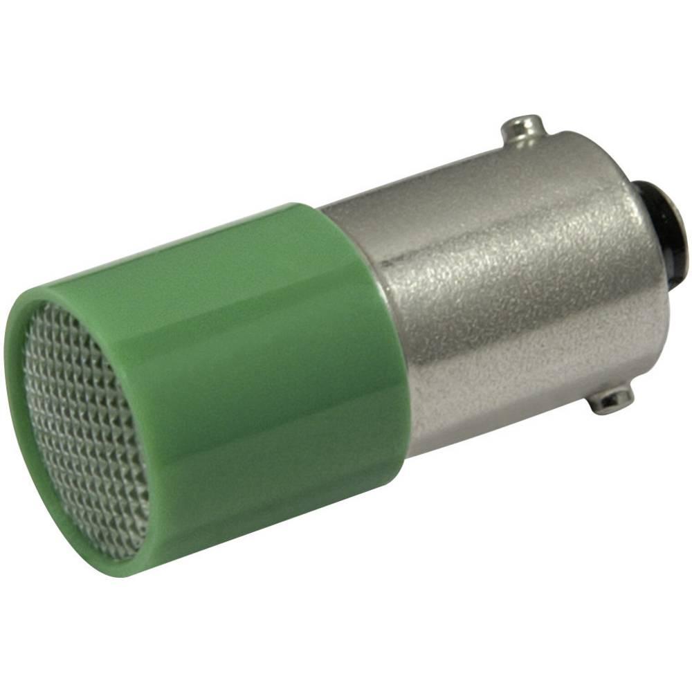 LED žarnica BA9s zelena 72 V/DC, 72 V/AC 1.5 lm CML 18824A31