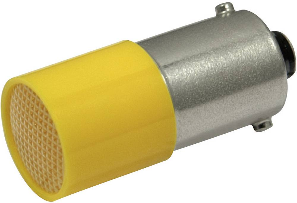 LED-diode CML BA9s 110 V/DC, 110 V/AC Gul