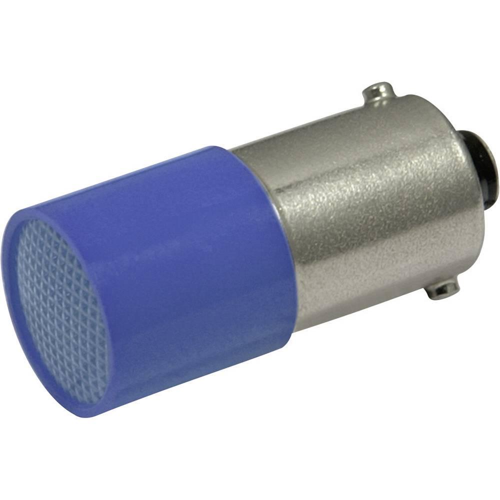 LED-diode CML BA9s 72 V/DC, 72 V/AC Blå