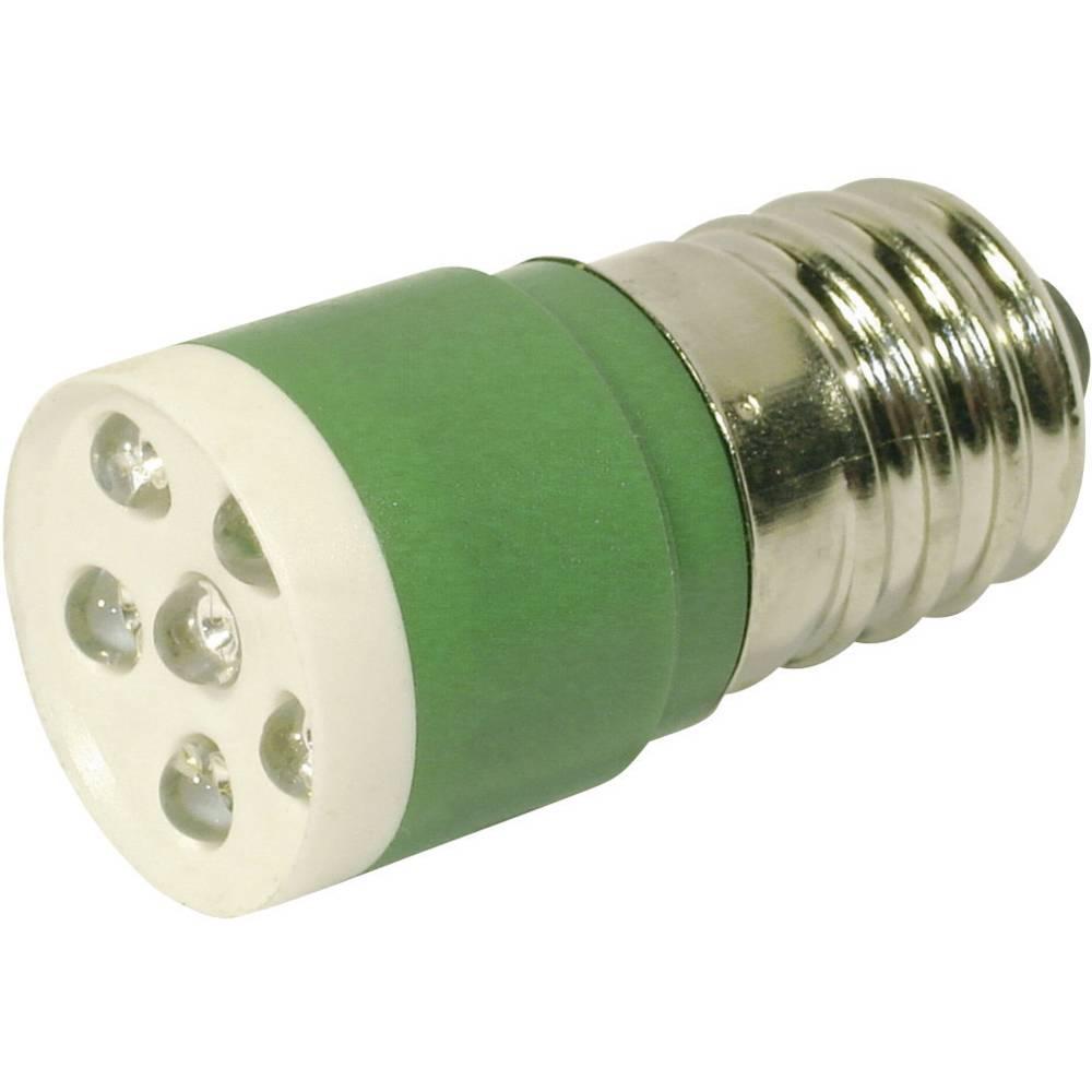 LED žarnica E14 zelena 24 V/DC, 24 V/AC 3150 mcd CML 18646351