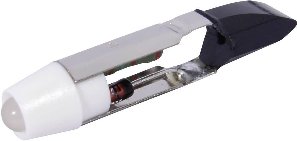 LED-diode CML T5.5 12 V/DC, 12 V/AC 900 mcd Kølig hvid