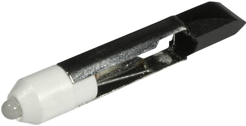 LED-diode CML T 6.8 12 V/DC, 12 V/AC 1530 mcd Varm hvid