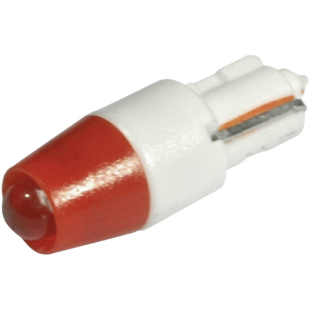 LED žarnica W2x4.6d rdeča 24 V/DC, 24 V/AC 230 mcd CML 1511A35UR3